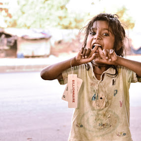 A true billionaire by Rujul Raimagia - Babies & Children Child Portraits