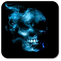 Smoking Skull Live Wallpaper icon