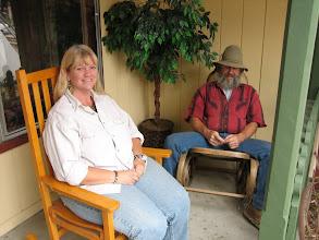 Photo: Pam and Kin --- my friends. So glad I stopped at this community on the way to Boise. They are wonderful hosts.