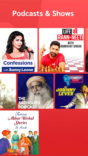 Gaana Music Hindi Tamil Telugu Songs Free MP3 App screenshot 3