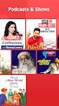 screenshot of Gaana Music - Hindi Tamil Telugu MP3 Songs Online