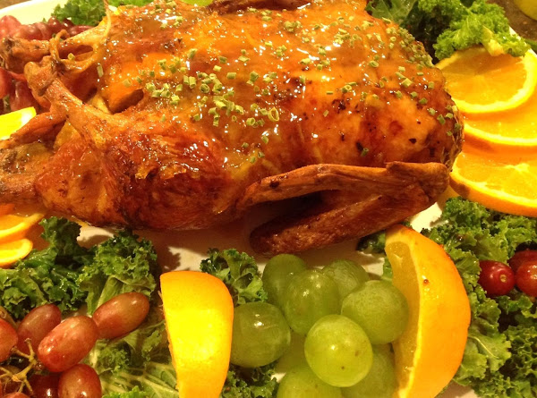 Duck A La Orange With Orange Sauce Recipe