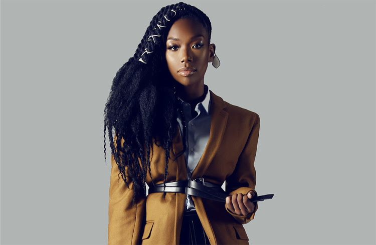 R&B songstress Brandy.