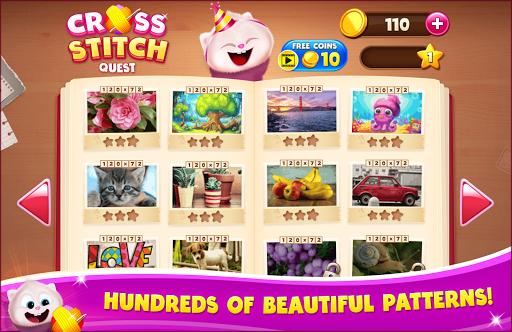 Cross Stitch Quest - Sewing Pattern Mania 2.16.0 screenshots 2