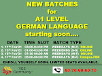 Want to learn the German Language | YESGermany - 8070606070