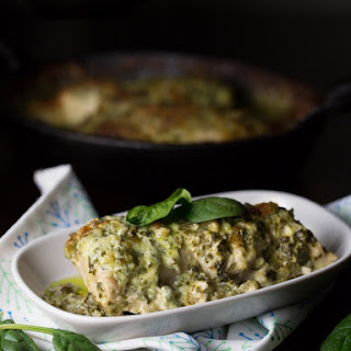 Low Carb Chicken Florentine.