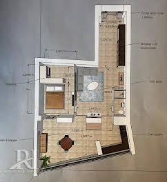 Studio 82 m2