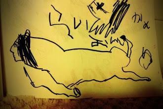 Photo: 走るライオン