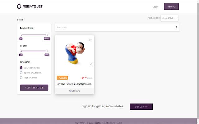 The Helper extension for Rebatejet.com