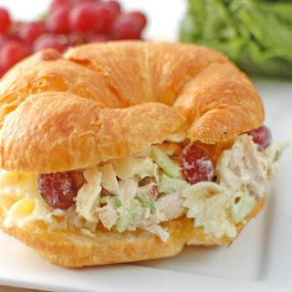 Bow Tie Chicken Salad Sandwiches.