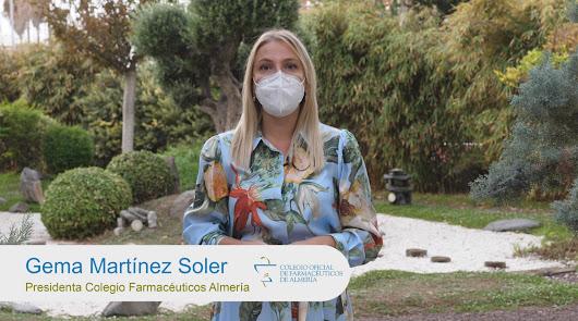 Los farmacéuticos de Almería celebran su Día recordando su papel ante la Covid