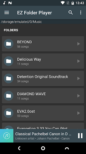 ez folder player screenshot 2