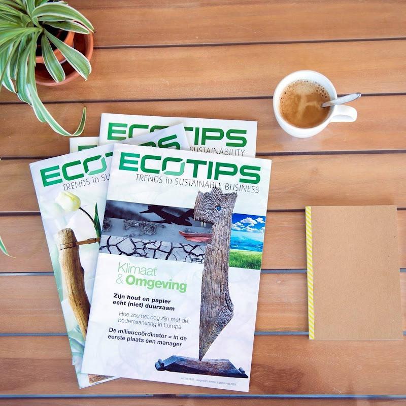 MAGAZINE - kunst op de covers van het EcoTips Magazine