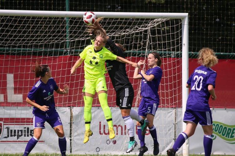 ? Vrouwen Anderlecht houden club uit Ligue 1 op gelijkspel