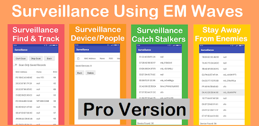 Download Surveillance Pro - Find & Track BT and WiFi Device für PC