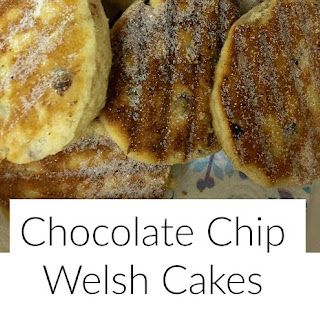 Chocolate Chip Welsh Cakes.
