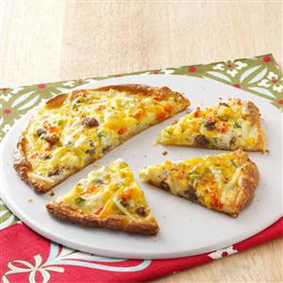 Breakfast Pizza for Two.
