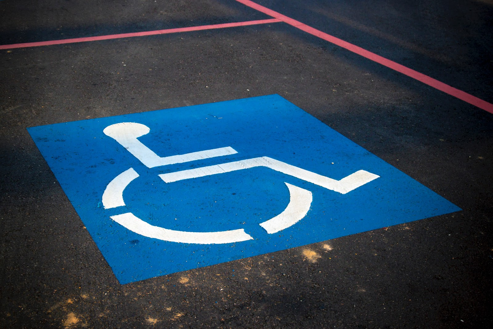 My neighbor has a disabled parking bay, can I use it?