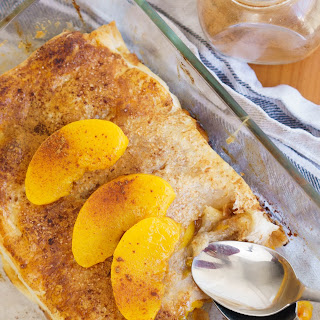 The Easiest Peach Strudel.