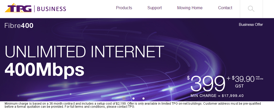Fast business internet TPG/Vocus | Zoran's Blog