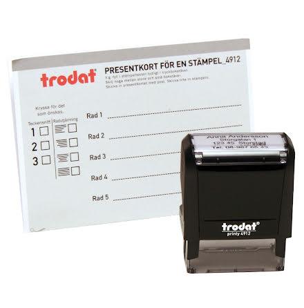 Beställningsstämpel Trodat4912