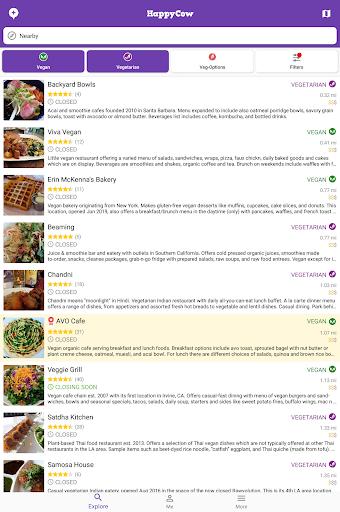 Find Vegan Restaurants & Vegetarian Food- HappyCow 62.0.26-free-v2 screenshots 11