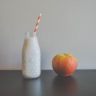 Caramel Apple Protein Smoothie.
