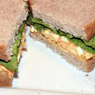 Deviled Egg Salad Sandwich