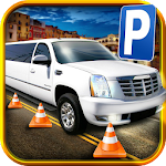 3D Limo Parking Simulator Game Icon