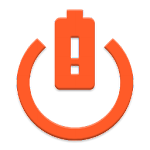 Battery level shutdown Icon