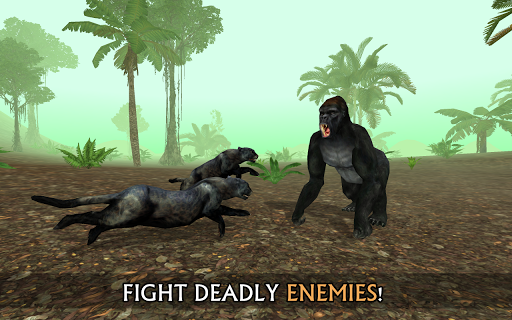Tu00e9lu00e9charger Wild Panther Sim 3D APK MOD (Astuce) screenshots 2