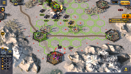 Codex of Victory - sci-fi turn based strategy Screenshot