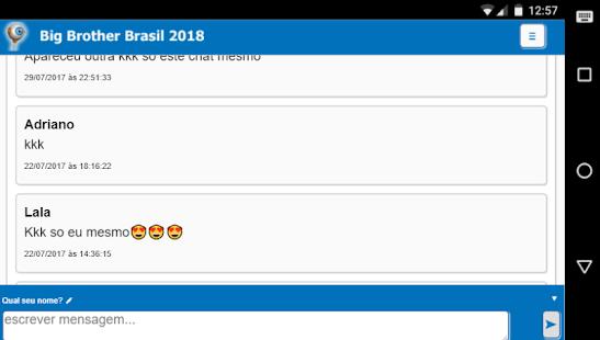 BBB 18 - Big Brother Brasil - Notícias e Chat - náhled