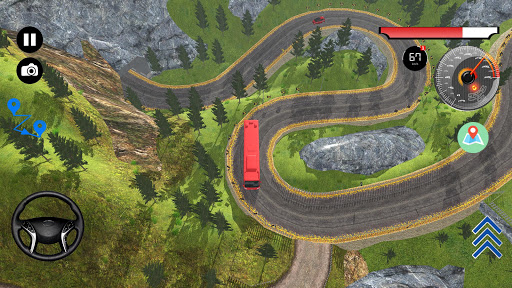 US Offroad Bus Driving Simulator 2018 1.0.1 screenshots 8