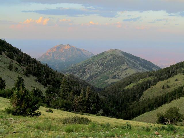 Bull Mountain and Wickiup Ridge