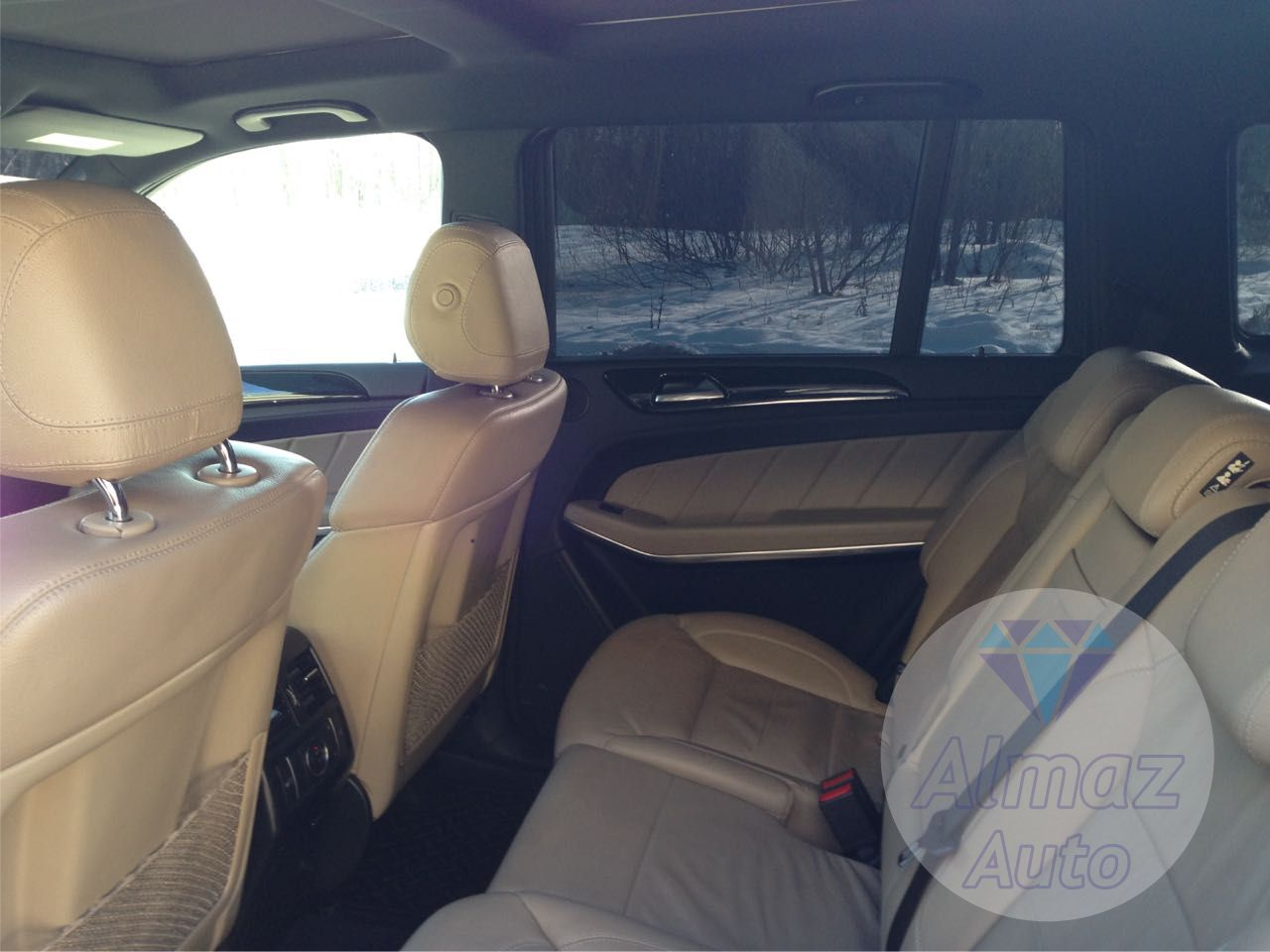 Mercedes Benz GL-class в Нижнем Новгороде