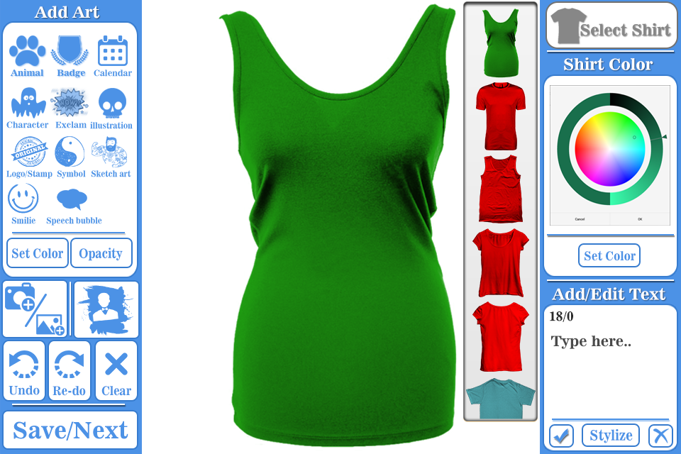 T shirt design maker android apps on google play for Free blueprint maker app