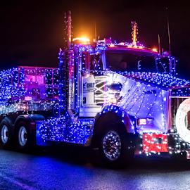 Truck Parade by Darren Sutherland - Public Holidays Christmas ( christmas, 2017.truck parade )