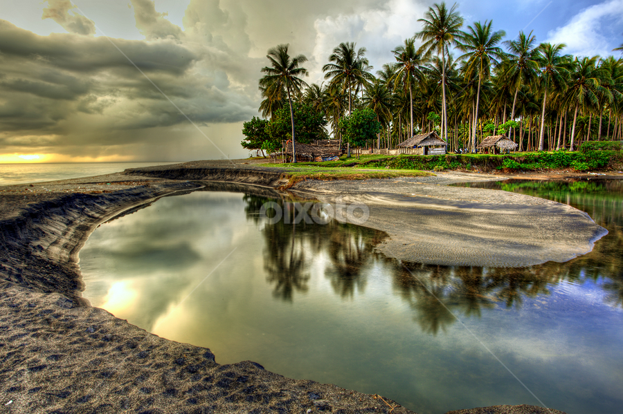 estuary by Sujatmiko Hidayat - Landscapes Waterscapes ( newbie bro.... )