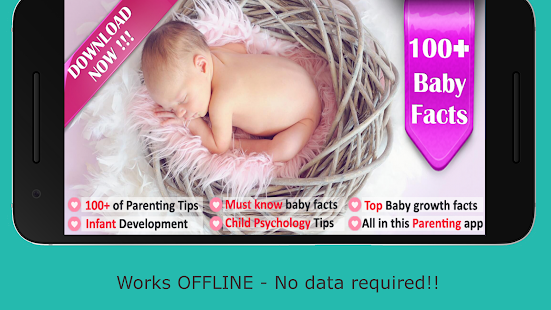 100 Baby Growth, Infant Care & Parenting Facts- screenshot thumbnail