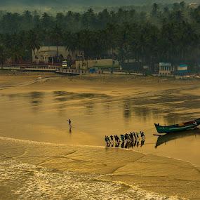 Team Work.. by Ramakrishnan Sundaresan - Landscapes Sunsets & Sunrises