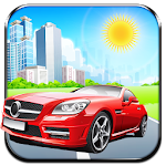 City Highway Racer Car Traffic Icon