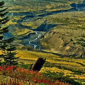 by Christopher Barker - Landscapes Mountains & Hills