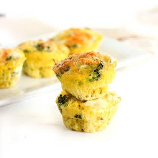 Make-Ahead Broccoli Cheddar Egg Cups.