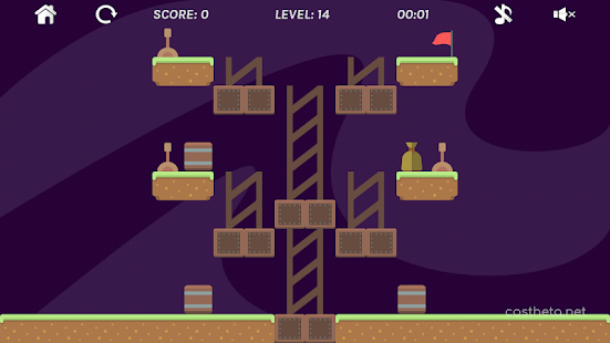 AntiGravity Puzzle Game (a game of logic) Screenshot