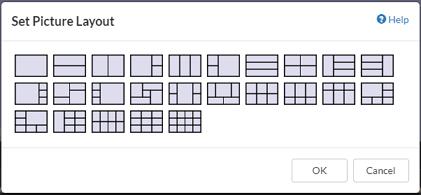 Set Picture Layout Option Dialog Box
