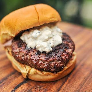 Blue Cheese Sauce Burgers Recipes.
