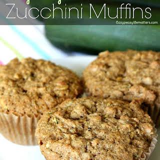 Easy Peasy Zucchini Muffins.