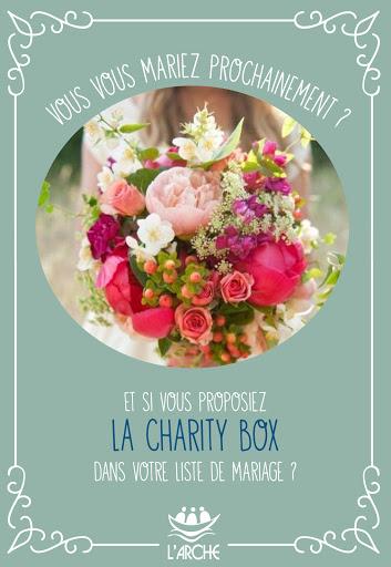 Charity Box mariage - Recto