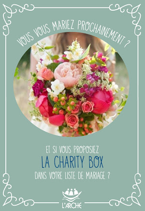 Charity Box mariage - Recto